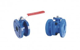 Cast Iron Ball Valve Picture 1