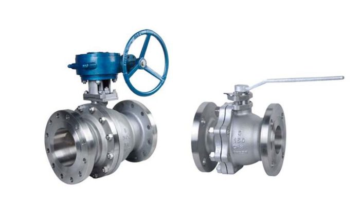 Cast Steel Floating Ball Valve Picture 1