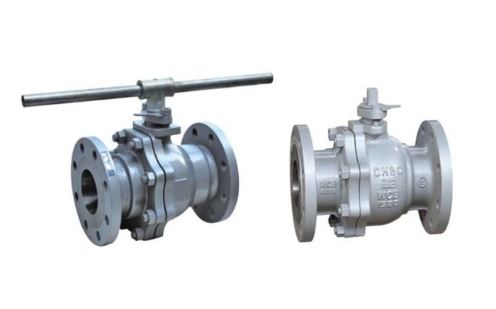 Cast Steel Floating Ball Valve Picture 2