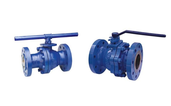 Cast Steel Floating Ball Valve Picture 4