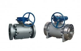 Forged Steel Trunnion Ball Valve Picture 1