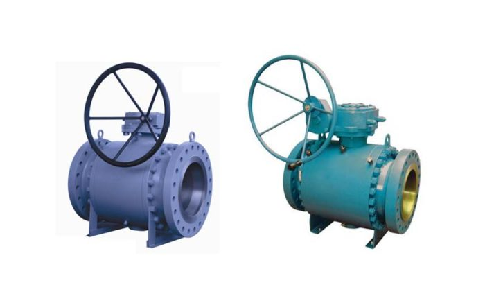 Forged Steel Trunnion Ball Valve Picture 3