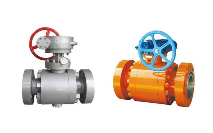Forged Steel Trunnion Ball Valve Picture 4