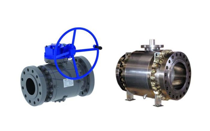 Forged Steel Trunnion Ball Valve Picture 5