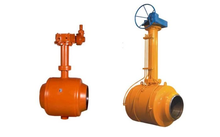 Fully Welded Ball Valve Picture 2