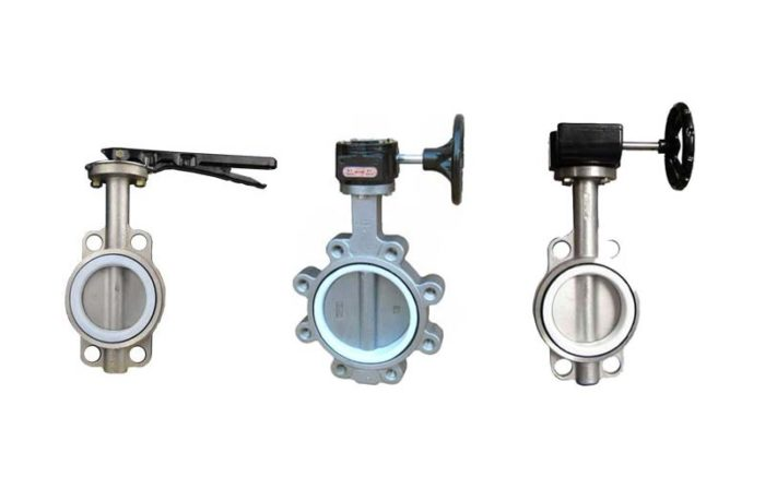 PTFE Lined Butterfly Valve Picture 1