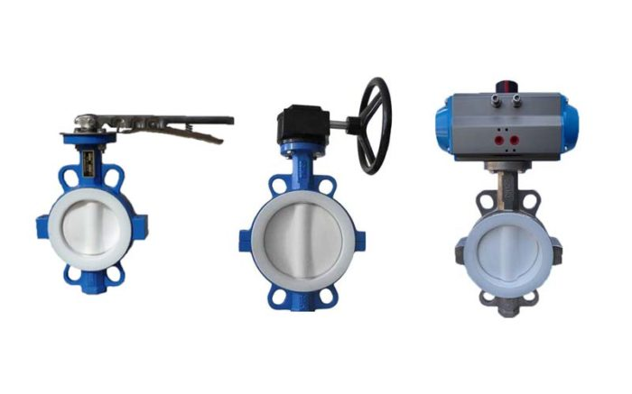 PTFE Lined Butterfly Valve Picture 3