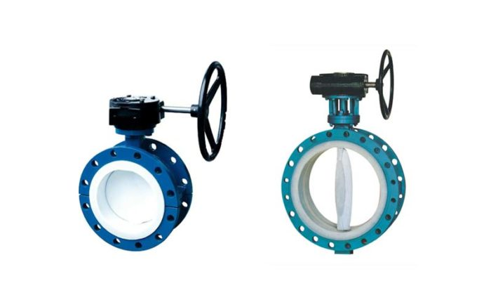 PTFE Lined Butterfly Valve Picture 4