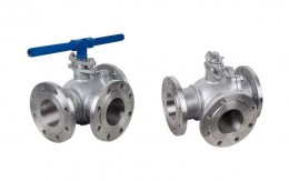 Three Way Ball Valve Picture 1