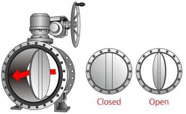 Butterfly Valve Icon